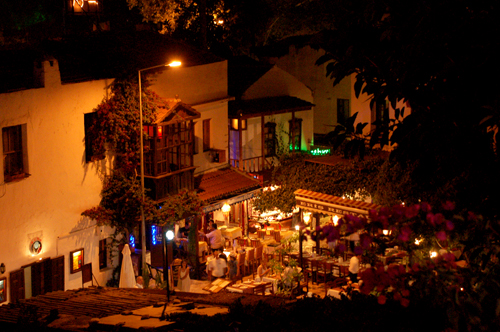 Photo: Nightlife in Kas at the Lycian Coast of Turkey