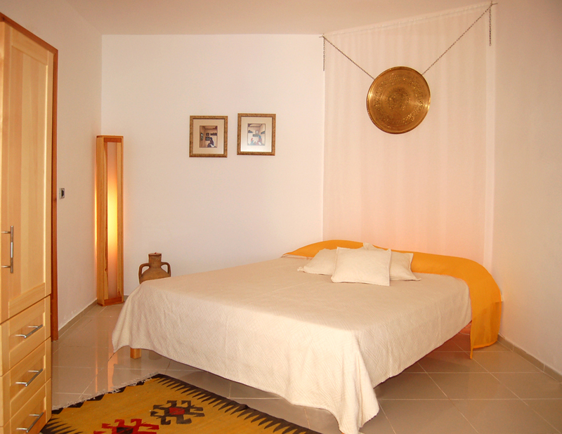 Photo: Bedroom of Villa Yakomoz, Seafront Holiday Home with Pool in Kas, at the Lycian Coast of Turkey