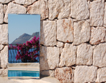Photo: In the Mirror - Pool of Villa Yakomoz, rental seafront Holiday Home with Pool for 2-6 people in Kas (Province Antalya) at the Lycian Coast of Turkey