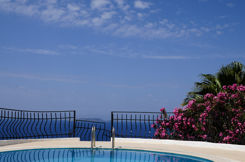 Photo: At the Pool of Villa Yakomoz, seafront holiday home for 2-6 people at the Lycian Coast, the insider tip for your individual holidays in Turkey