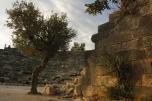 Foto: Kaş - Das Antike Theater von Antiphellos an der Lykischen Küste der Türkei, der türkischen Riviera