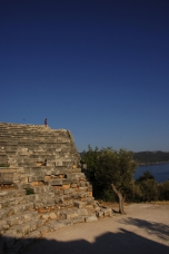 Photo: Kas - The antique Theater of Antiphellos at the Lycian Coast of Turkey