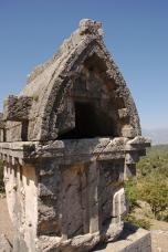 Foto: Das antike Pinara an der Lykischen Küste der Türkei