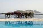 Photo: Pool and view to the Greek island Kastellorizo (Meis) from Villa Yakomoz, private Holiday Home at the Lycian Coast - Kas/Antalya, the insider tip and perfect destination for your individual holidays in Turkey